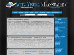 Aperçu du site Activ-visuel.com