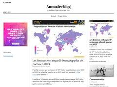 Aperçu du site Annuaireblog.org