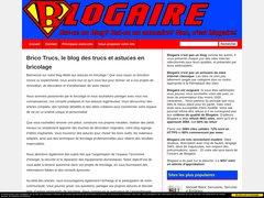 Aperçu du site Blogaire.com