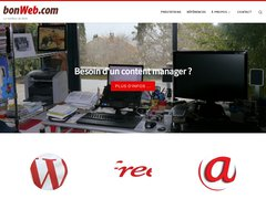 Aperçu du site Bonweb.fr