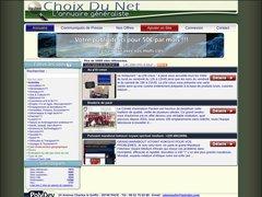 Aperçu du site Choixdunet.fr
