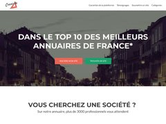 Aperçu du site Creasite-france.com