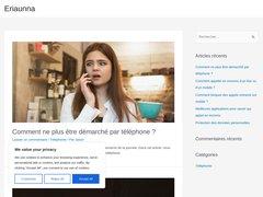 Aperçu du site Eriaunna.fr