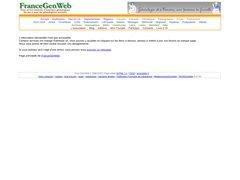 Aperçu du site Francegenweb.org