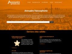 Aperçu du site Frannuaire-gratuit.com