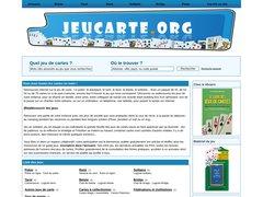 Aperçu du site Jeucarte.org