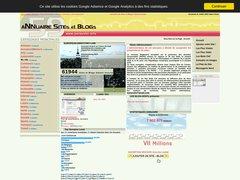 Aperçu du site Joelouvier.info