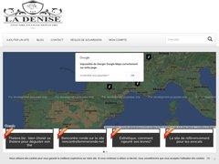 Aperçu du site Ladenise.com
