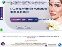 Med Espoir, coach en interventions de chirurgie esthétique