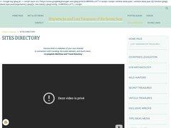 Aperçu du site Oceantreasures.org