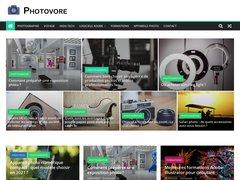 Aperçu du site Photovore.fr