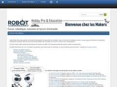 Détails : robot-maker.com : le monde de la robotique