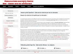 Aperçu du site Superone.fr