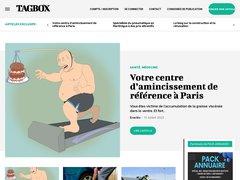 Aperçu du site Tagbox.fr