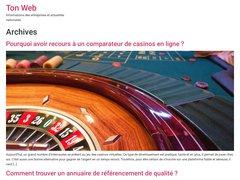 Ton Web Annuaire automatique