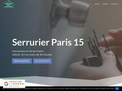 Détails : Serrurier Paris IDF 24/7 | 30 min Chez vous sur tarif annoncé