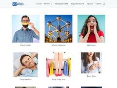 Détails : Création de site Web