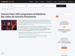 Concerts à Paris