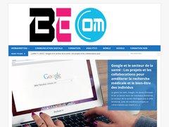Détails : be-com, agence conseil en communication, stratégies éditoriales et rédaction