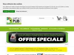 TOUTE VOTRE PUB : EXTERIEURE | INTERIEURE | IMPRIMERIE | TEXTILE | INTERNET | VERTE
