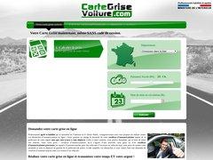 CarteGriseVoiture.com | Carte Grise pas cher en ligne à 25,90 €