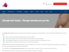 Détails : Chirurgie mammaire Tunisie