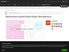 Détails : Woocommerce export fichier CSV