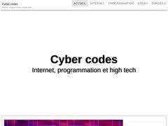 Détails : cybercodes.fr codes promo codes remises