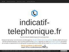 Détails : Tous les services téléphoniques