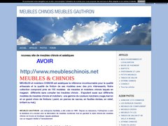 Détails : meubles chinois meubles gauthron