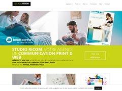 Ricom - Agence de communication et publicité Cholet, Angers (49) et Nantes (44)