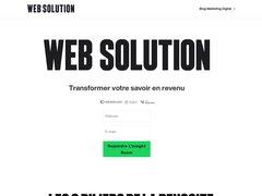 Détails : Web Solution