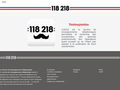 118218.fr - Annuaire Téléphonique Gratuit