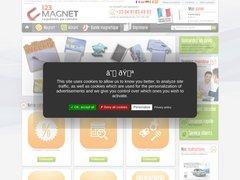 Détails : Magnet publicitaire personnalisé professionnel