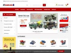 43QuaideJavel - Vente en ligne de voitures miniatures