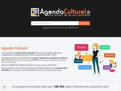 AgendaCulturel.fr : agenda culturel concerts, théâtre,  danse