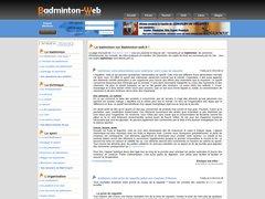 Badminton-web.fr.