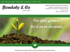 Détails : Bondaty and Co - Agence de communication et développement - Création de sites internet Clermont Ferrand - 63 - Auvergne - logos - flyers  - gestion de projets - développement TPE PME auto entrepreneur