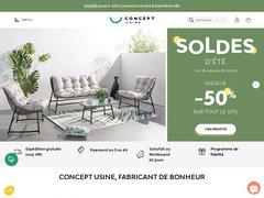 Boutique en ligne de vente de meubles