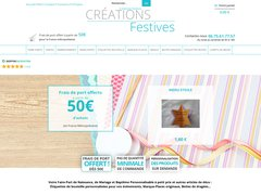 Détails : www.creationsfestives.fr