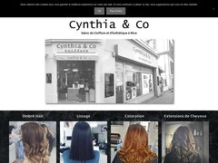 Détails : Salon de coiffure à Nice : Cynthia & co
