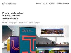 Détails : Des Cheval - Agence de publicité à Tours (37)