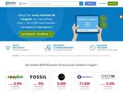 Détails : eBuyCLub : CashBack et Réductions