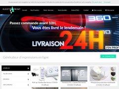 Impression grand format - Electroprint.fr