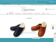 Détails : Esprit Nordique boutique sabots suédois et accessoires de mode