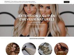 Vente: extensions à clips, diadème, épingle, spirale