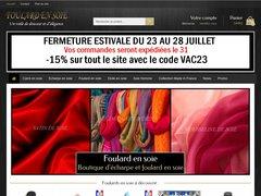 Détails : Foulard en soie