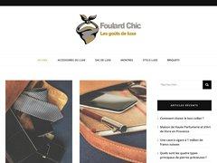 Détails : FoulardChic : vente de foulards et écharpes