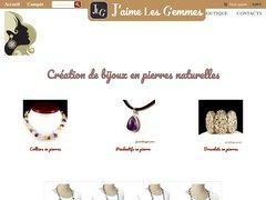 Détails : Bijoux pierres semi-précieuses J'aime les gemmes