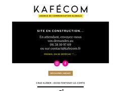 Détails : www.kafecom.fr